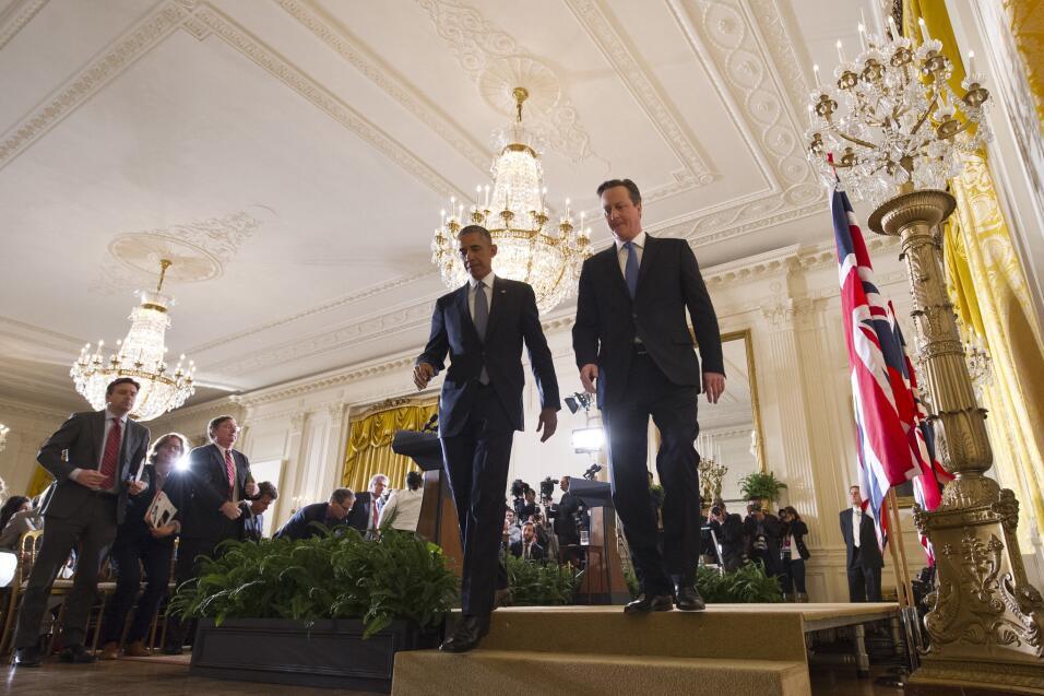 Obama y Cameron 2016