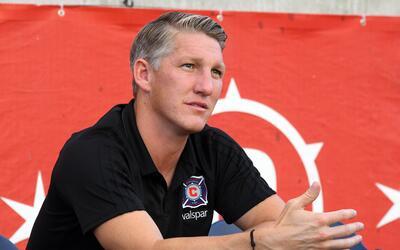Bastian Schweinsteiger debe negociar su continuidad con Chicago Fire.