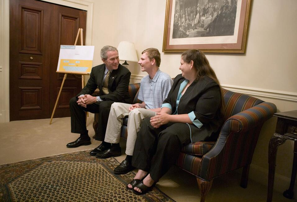 George W. Bush, Randal McCloy, WIlbur Ross