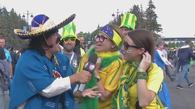 Con fútbol y samba, Kevin Arnulfo celebró en San Petersburgo