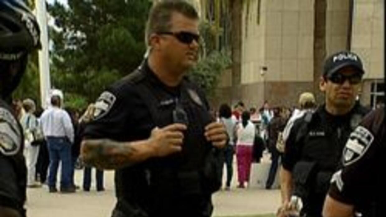Policias de la ciudad de Phoenix
