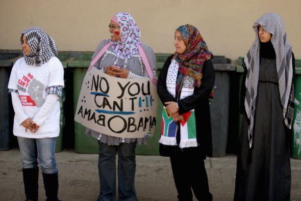 Antes de la visita de Obama, la Asociación de Abogados Musulmanes...