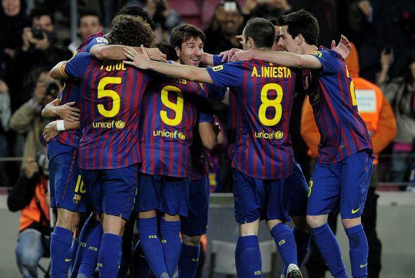 El Barcelona despachó al Getafe con una merecida y trabajada goleada 4 a 0.
