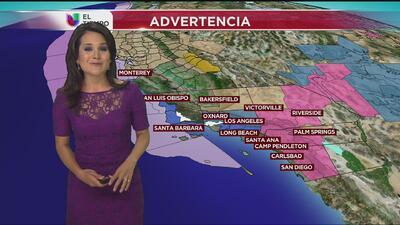 Alerta invernal para el sur de California