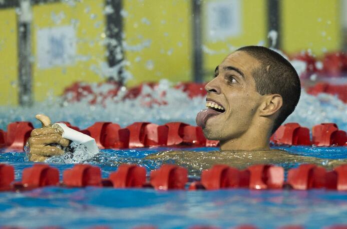 Fiol, de 21 años, terminó a 14 décimas del brasileño Leonardo De Deus, q...