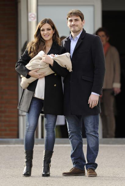 Otra pareja feliz y muy 'chic' fue la que conforman Iker Casillas y su n...