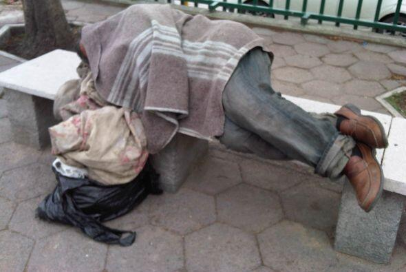 La pobreza en la mayor economía del mundo sigue estando lejos de ser err...