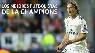 Los cinco mejores futbolistas de la Champions: Luka Modric