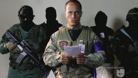 El inspector de policía y piloto Óscar Pérez era el...