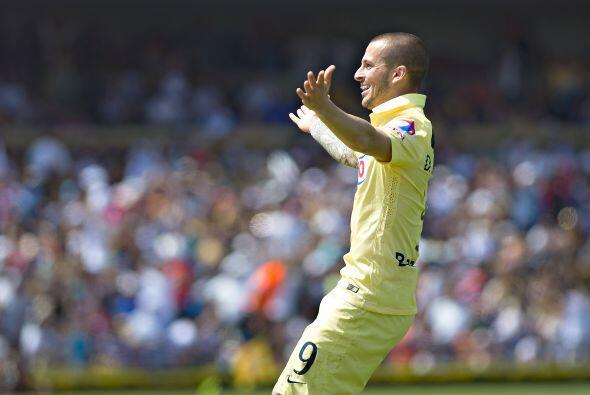 Compartiendo este peldaño tenemos a otro jugador del América, Darío Bene...