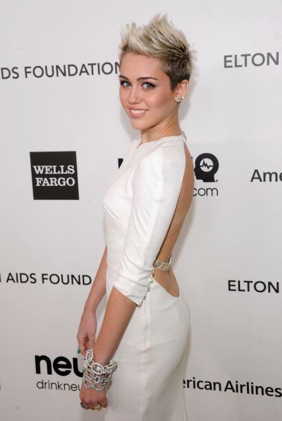 Es más fácil saber lo que Miley Cyrus no consume en su día a día que lo...