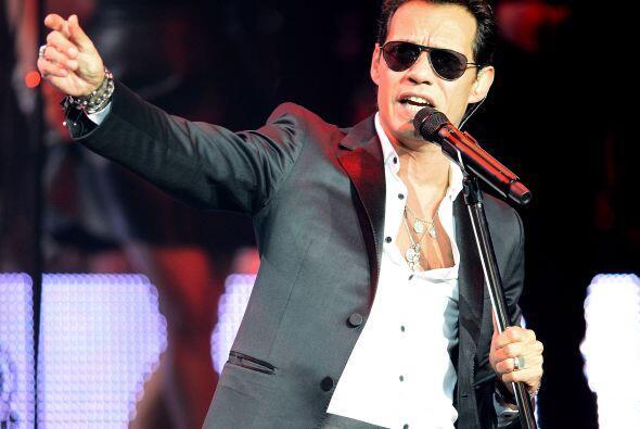 El músico, cantante y actor puertorriqueño  Marc Anthony, ha puesto a ba...