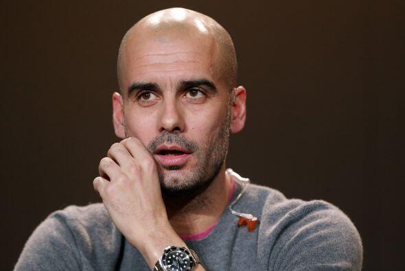 Josep Guardiola: Sí, sabemos que Pep tiene contrato con el Bayern Munich...