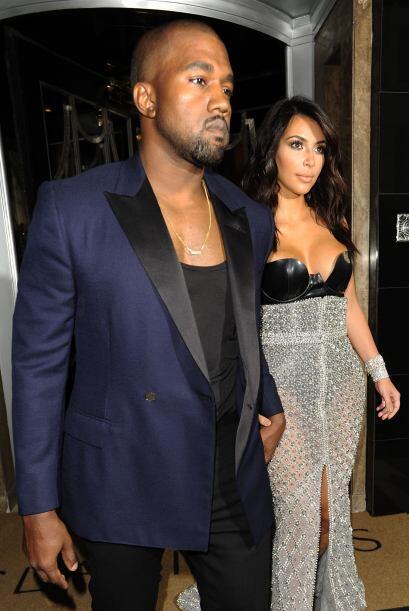 Cuando recibió su premio agradeció en especial a su amado Kanye que todo...
