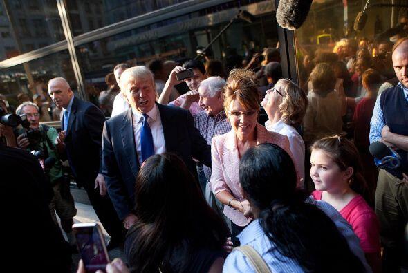 Sara Palin en Nueva York