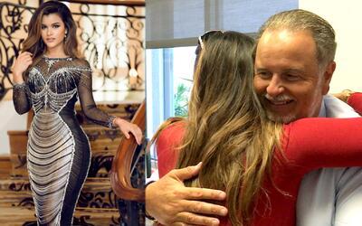 Clarissa Molina fue recibida por Raúl de Molina y no te lo puedes perder...