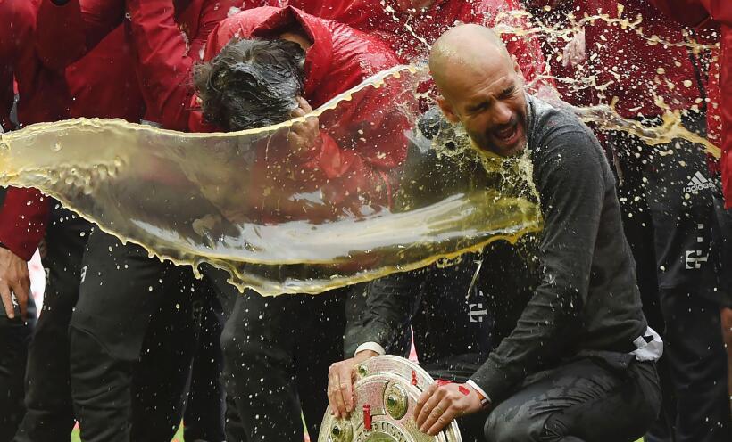 Celebración Bayern Múnich