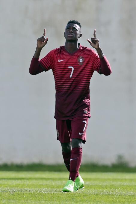 El joven portugués Úmaro Embaló (16 años) sería del interés del RB Leipz...