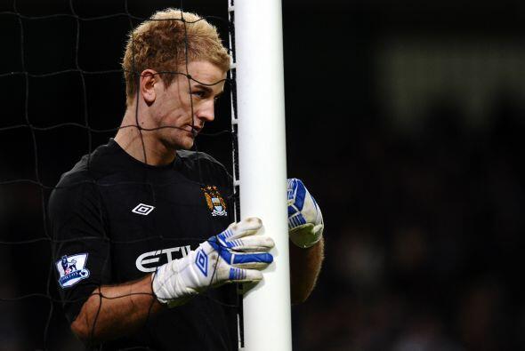 Este guardameta del Manchester City dio una gran actuación ante el etern...