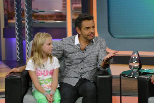 Durante la entrevista, Eugenio y Loreto recibieron una sorpresa.