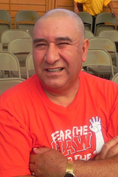 Otros han apostado hasta la cabellera, como Eufracio Martínez, de 50 año...