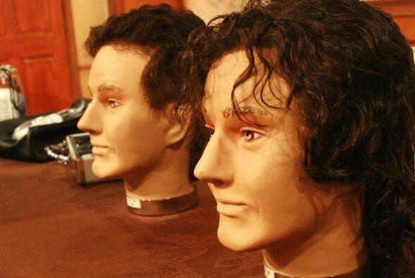 El invitado es experto en peluquines, una buena opción para los hombres...