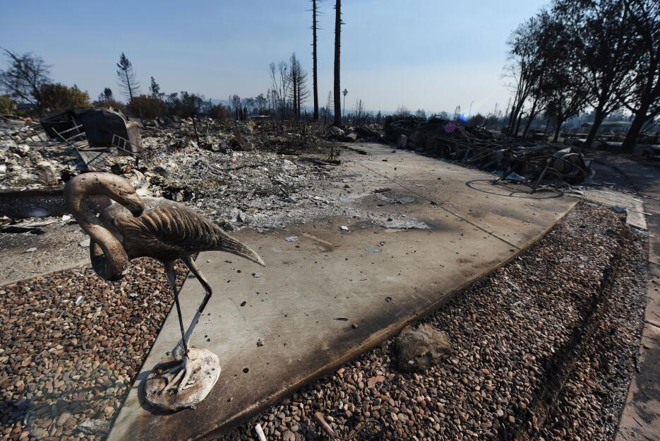 Fotos: Coffey Park, el barrio más calcinado por el fuego en California g...