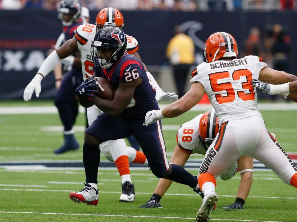 Watson ha lanzado 15 pases de touchdown esta temporada, la mayor cantida...