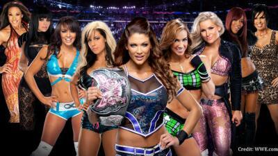 Las Divas de la WWE.