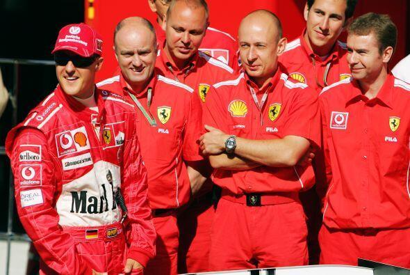 En el 2004 ganó sel séptimo y ultimo campeonato de su carrera con el 'Ca...