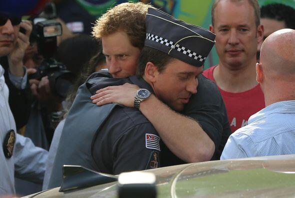 Incluso puedo abrazarlo y la emoción en ambos fue notoria.