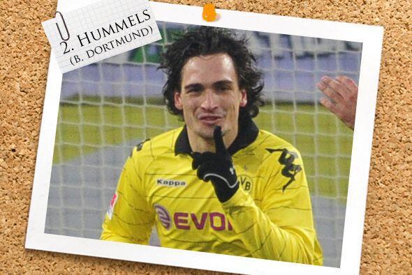 La zaga inicia con Mats Hummels, defensor del Borussia Dortmund, l&iacut...