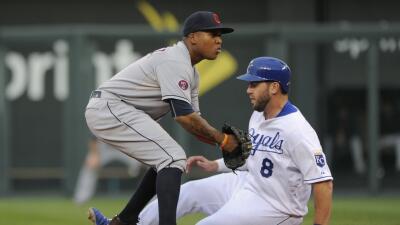 El incidente se produjo en el octavo inning de un juego que estaba empat...