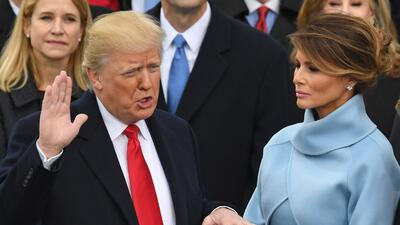 Cada día una foto: El primer mes de Donald Trump en la presidencia