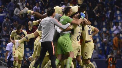 En fotos: América voló alto sobre Puebla e iguala al Cruz Azul en la tabla