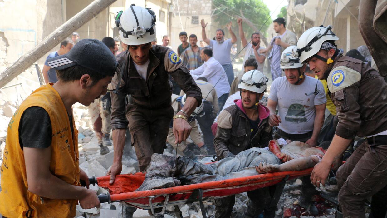 Los niños que sufren el horror de la guerra civil en Siria (FOTOS)  Gett...