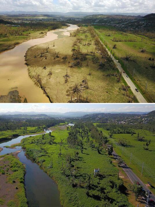 Puerto Rico a 6 meses del paso del huracán María.