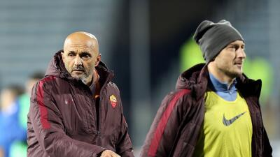 """Luciano Spalletti: """"Todo va bien con Totti"""""""