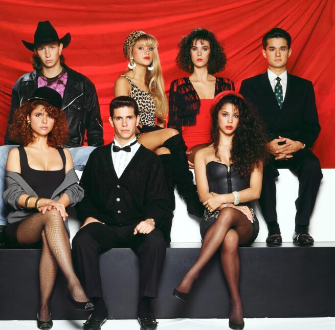 """La Banda Timbiriche en 1990 para el disco """"Timbiriche X"""": Eric..."""