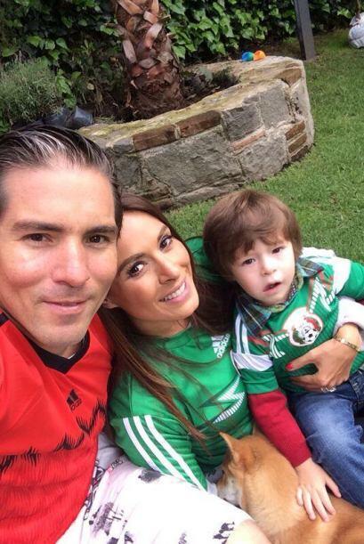 Galilea Montijo vio el partido con su familia. Todo sobre el Mundial de...