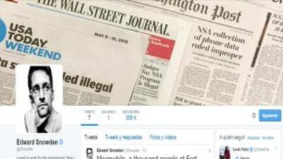 Twitter de Edward Snowden.