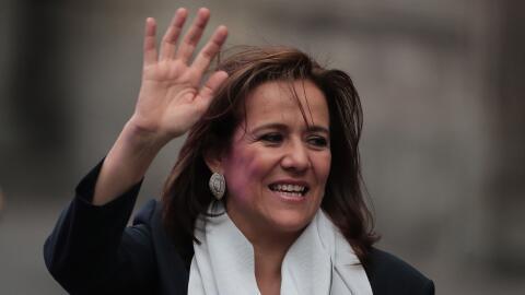 Margarita Zavala, excandidata independiente por la presidencia de M&eacu...