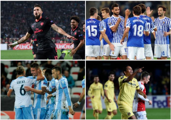 Arsenal ganó por la mínima, Milan no pasó del empate; así terminó la fec...
