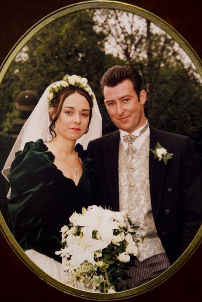 Esta bella pareja se casó muy enamorada, seguros de compartir todo en la...