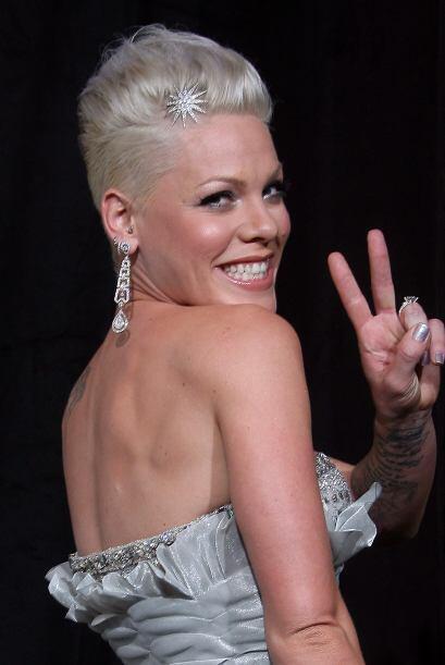 14. Pink Continuando con la tendencia de que las cantantes son las más f...
