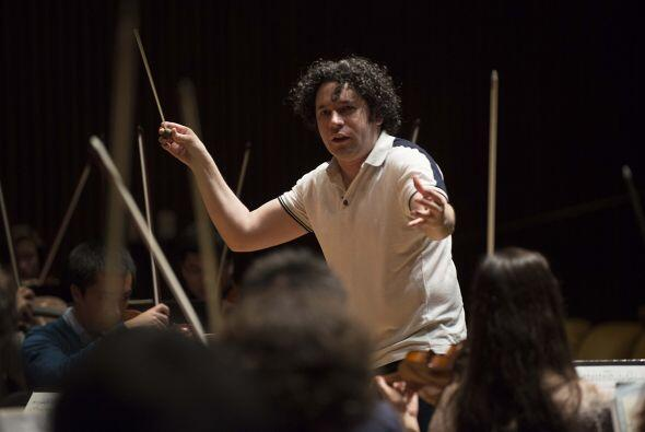 GUSTAVO DUDAMEL: Es el director de la Orquesta Filarmónica de Los Angele...