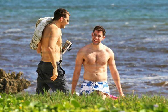 """¿Frío? ¡¿Cuál?! El actor de la saga de """"The Hangover"""" fue a darse un cha..."""