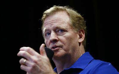 Roger Goodell ha dirigido la NFL desde 2006.