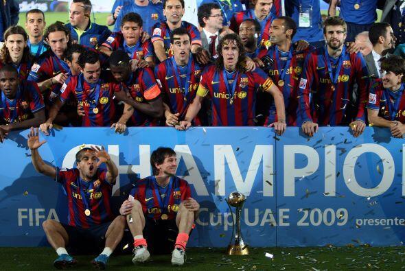 El tercero fue el Mundial de Clubes, ante el Estudiantes de la Plata.
