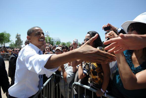 29 de enero. Un día después del anuncio del Grupo de los Ocho, Obama pre...